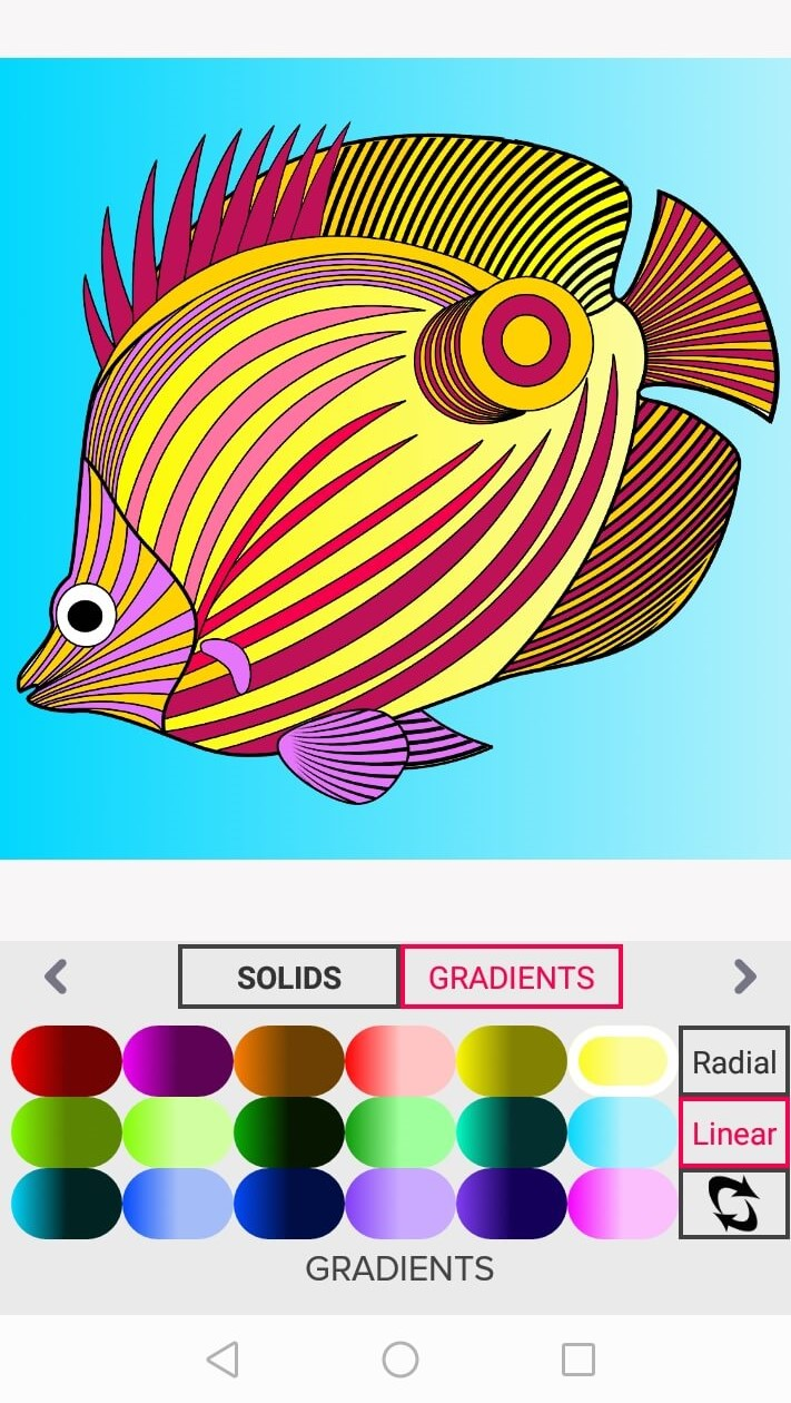 butterflyfish - stay home and color